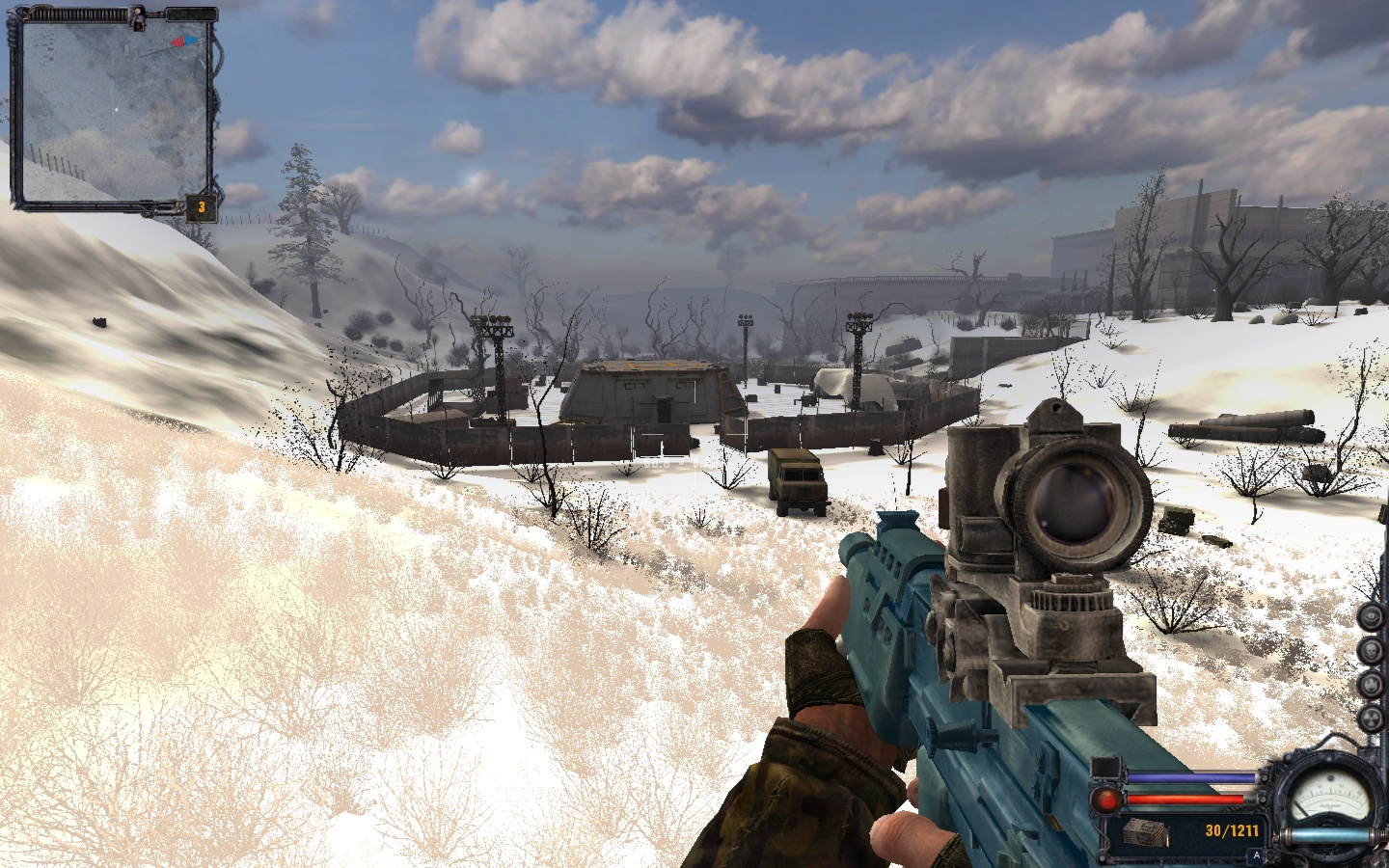 Winter in the Exclusion Zone