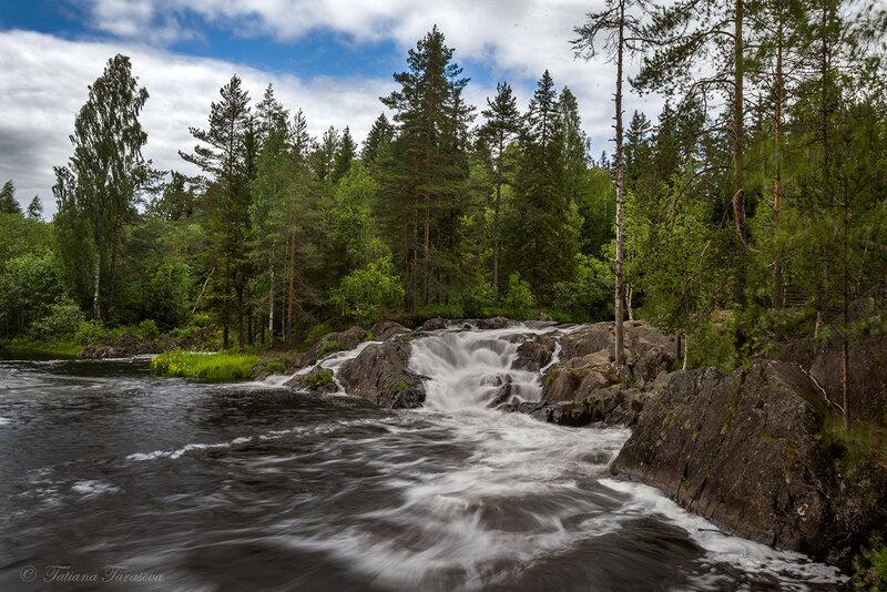Водопады Северной Ладоги
