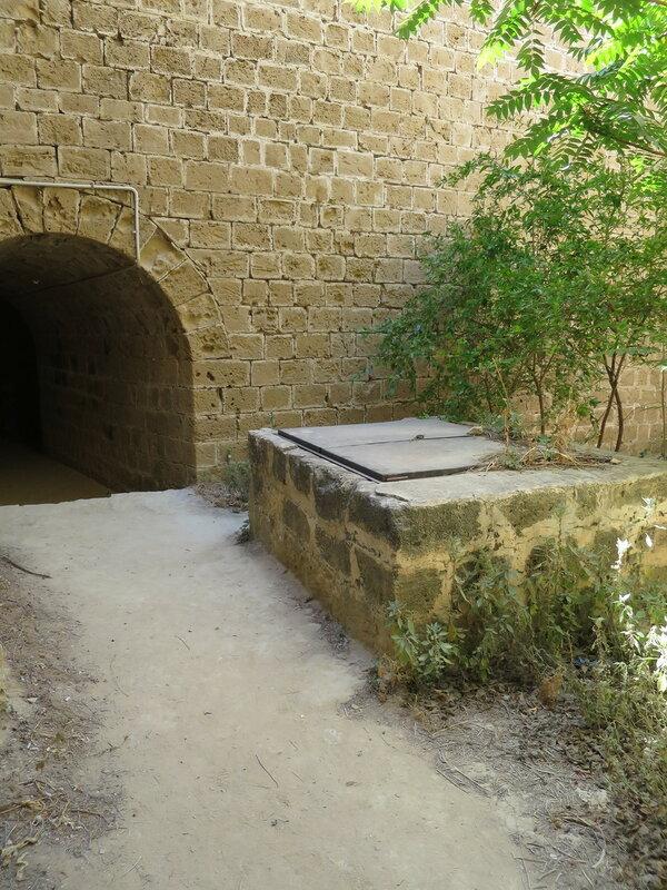 Открытая площадка юго-западного бастиона