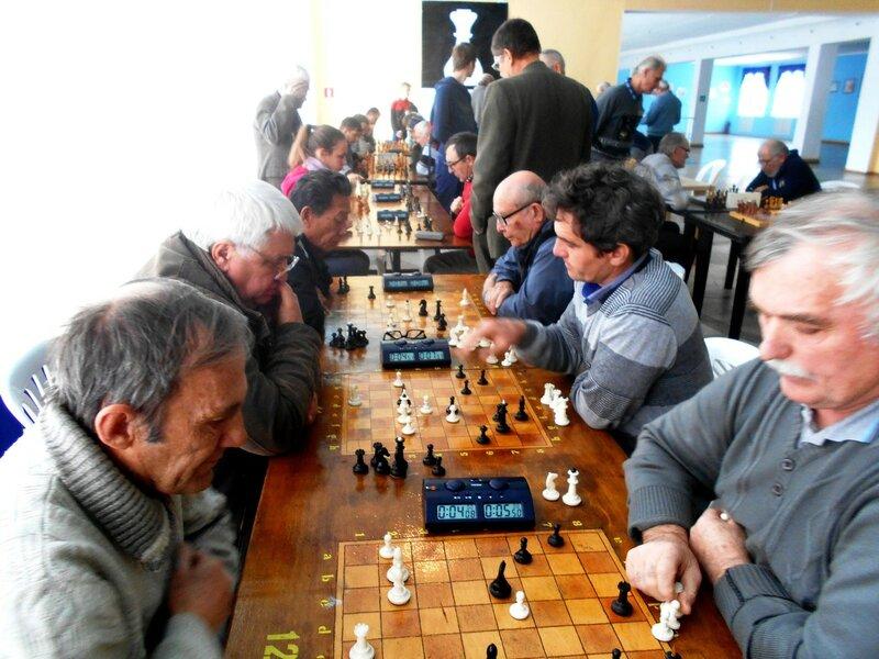 Поединки ... Шахматный турнир. Выселки. Декабрь 2016