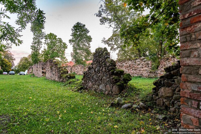 Юмурда. Юмурдинский замок