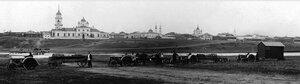 1927. Троицк. Панорама города с запада