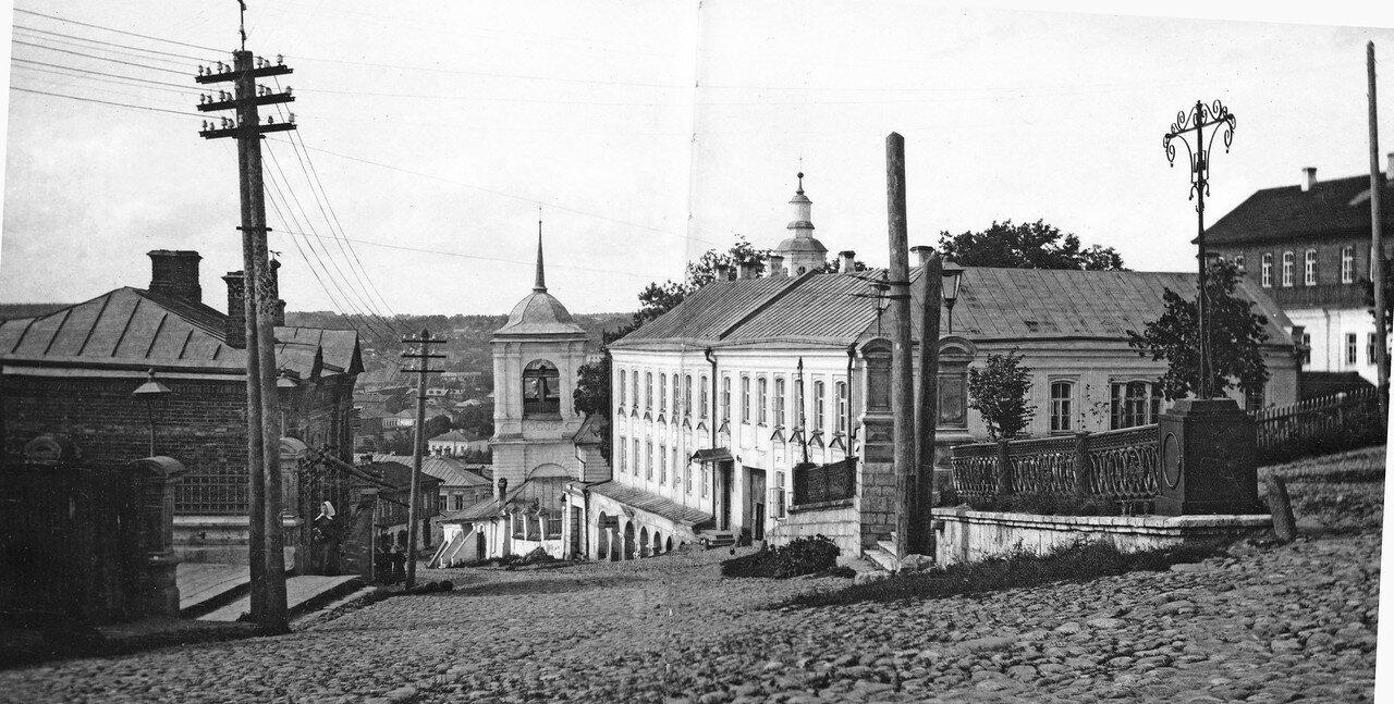 Улица Соборная Гора и Соборная лестница. 1907