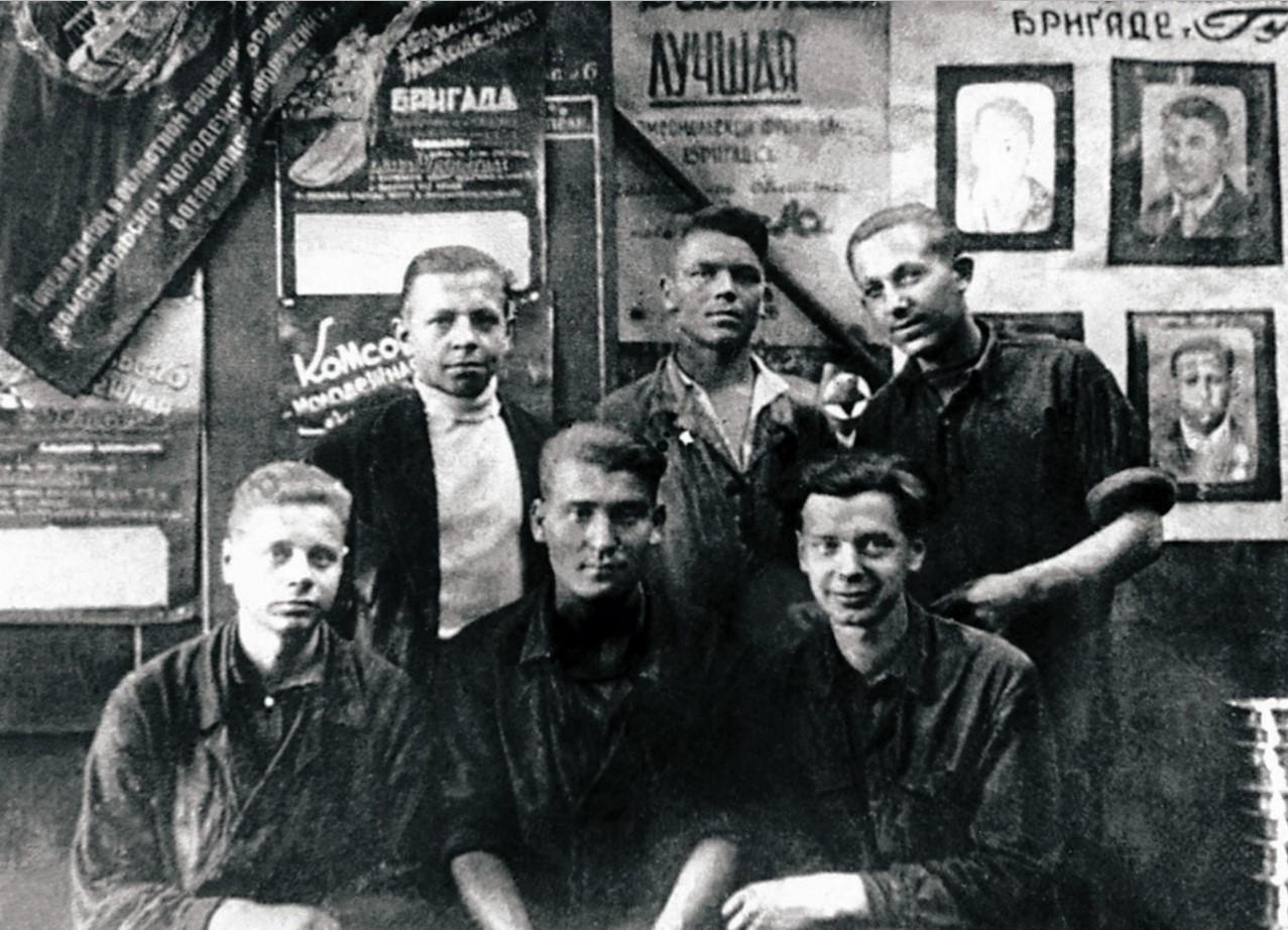 Челябинск. Челябинское танко-техническое училище. Батальон выпускников. 1943