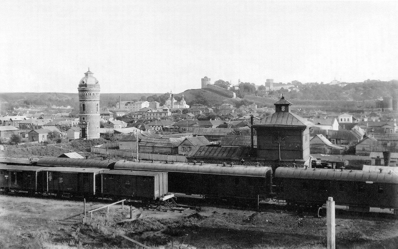 Товарная станция. 19 августа 1907