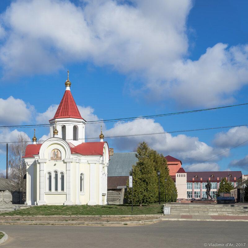 Часовня Георгия Победоносца в Мышкине