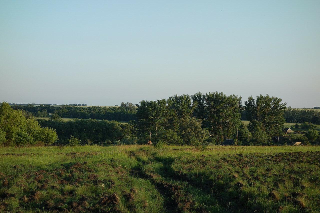 перепаханное поле