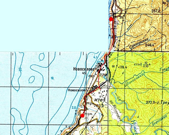 Карта маршрута 31 августа