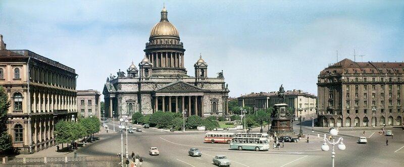 1963-65 Исаакиевская площадь. Илья Голанд.jpg