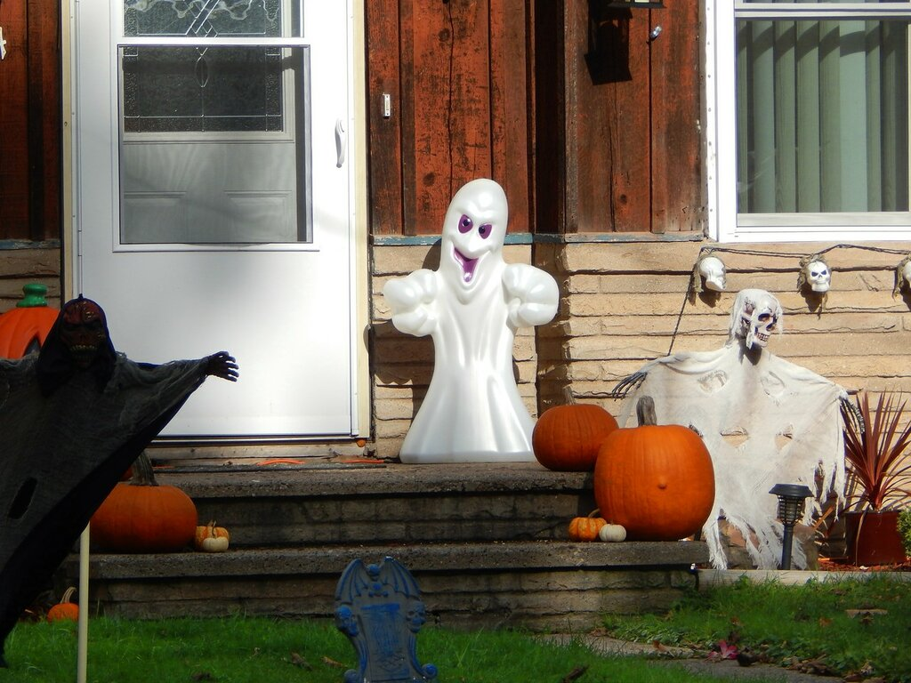 Halloween Yard Display