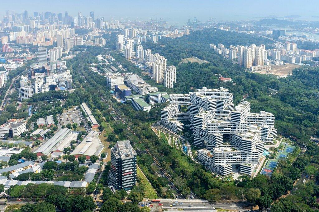 Жилой комплекс Interlace в Сингапуре
