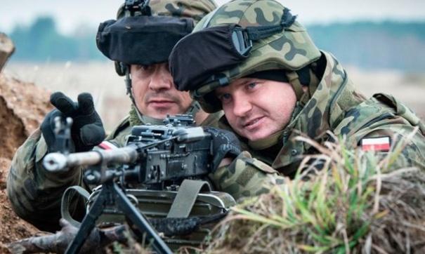 ВПольше началось размещение батальона НАТО