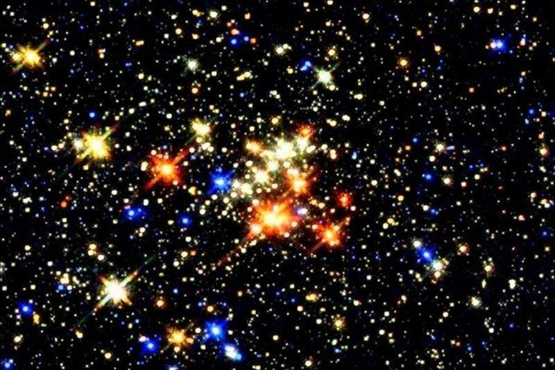 Разноцветные звёзды