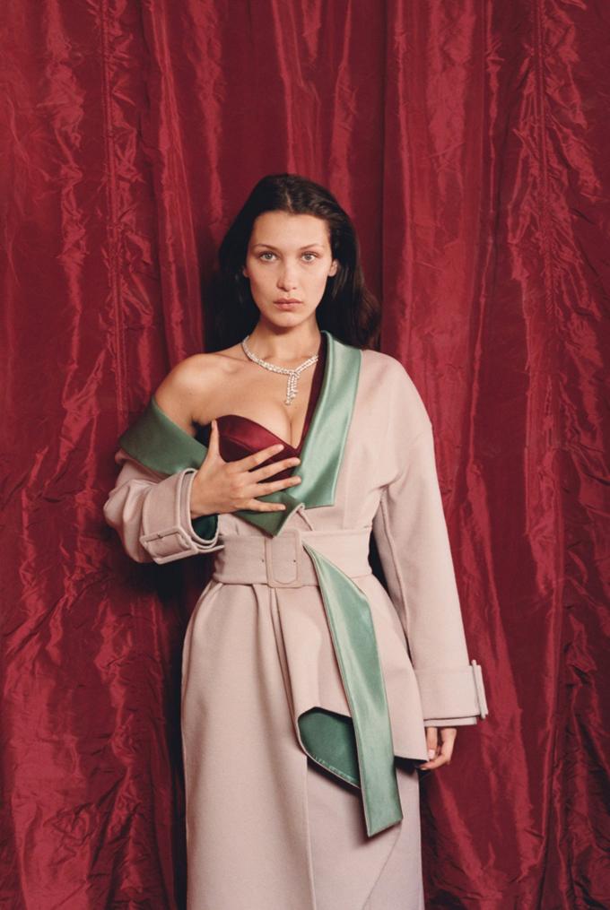 Белла Хадид на обложке W Magazine