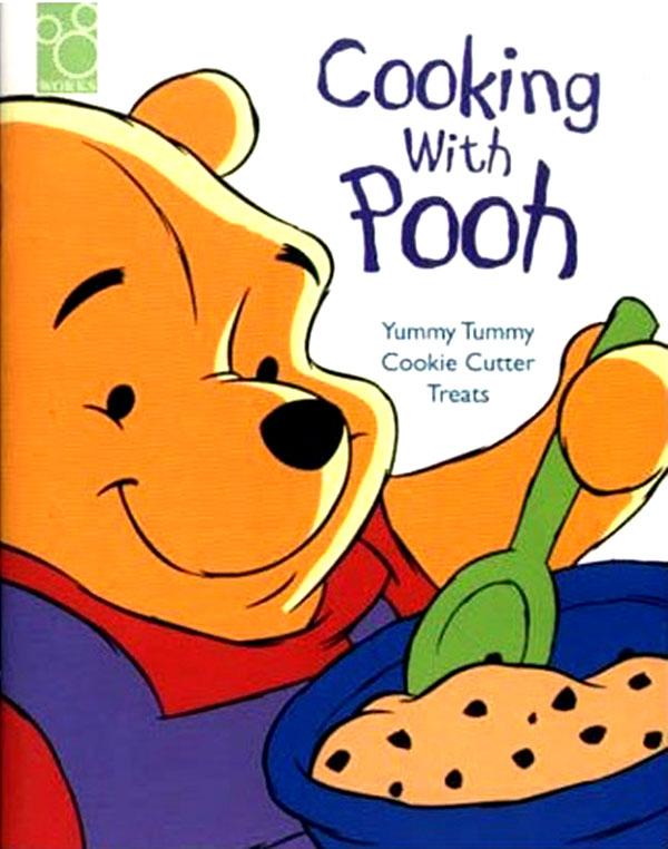 «Готовим с Пухом». Даже по-русски это заглавие звучит странновато, а по-английски «Pooh» созвучно с