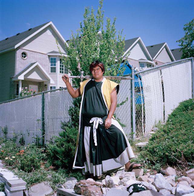 6. Вэл, 22 года, Прово, штат Юта Имя персонажа: Тсаме Биография персонажа: Тсаме – самурай, от