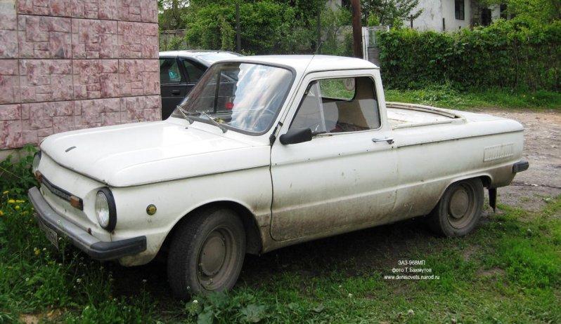 Серийный пикап, появившийся уже на излёте СССР, производился с 1990 по 1992 год.  ЗАЗ-965П