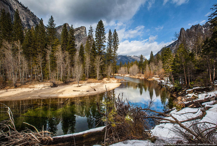 16. Наиболее серьёзными угрозами для йосемитской дикой природы в настоящее время являются лесные пож