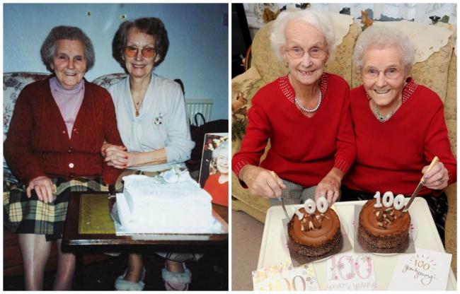 © catersnews.com  Кроме Айрин иФиллис, вВеликобритании есть еще 5пар столетних близнецов. К