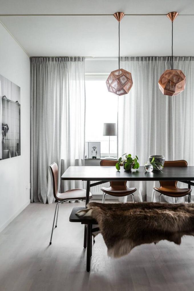 Скандинавская квартира в Стокгольме