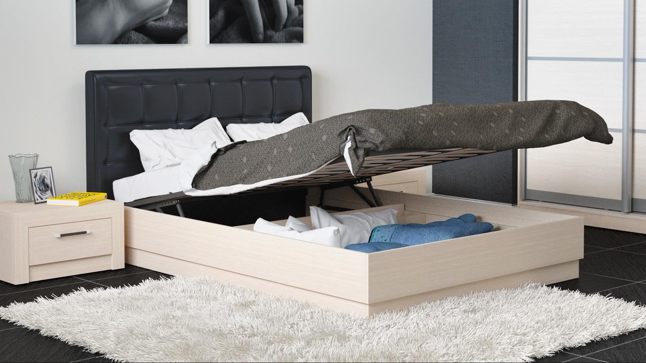 Выбор кровати с подъемным механизмом (1 фото)