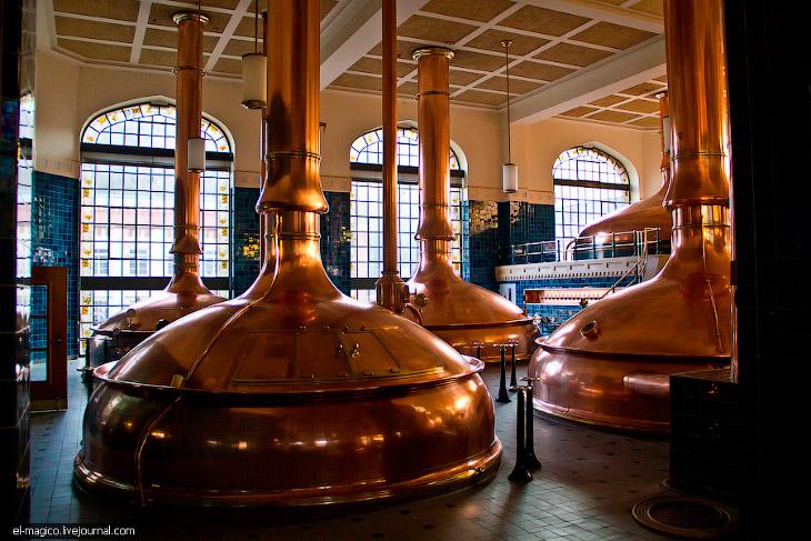 Фотографии и текст Андрея Гаврикова   Никогда не был на заводе по производству пива. Для нас