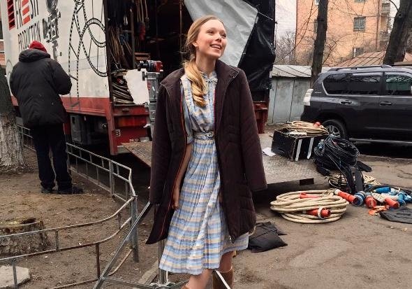 Украинская артистка похвасталась ролью вголливудском экшене