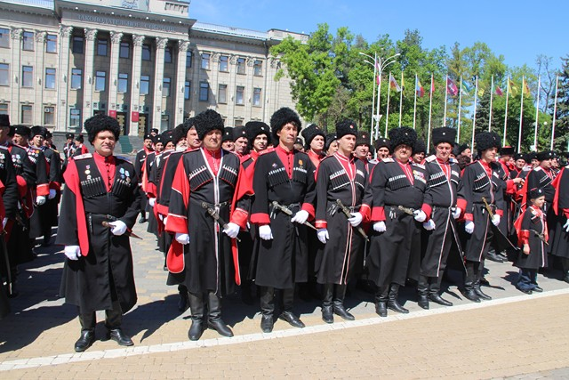 Парадом пройдется поКраснодару казачество вчесть 320-летия Кубанского войска