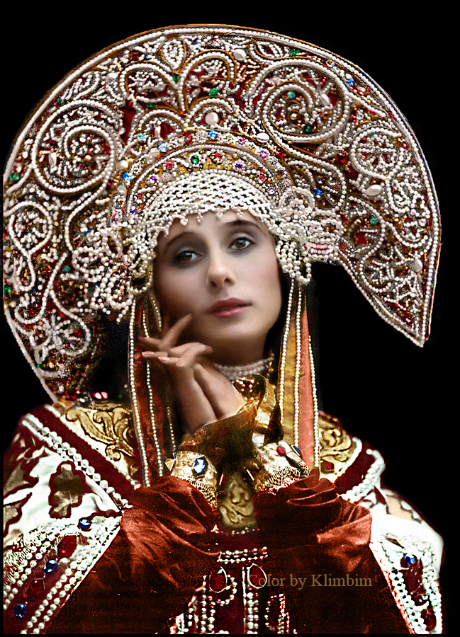 Anna Pavlova in Russian Costume, 1911