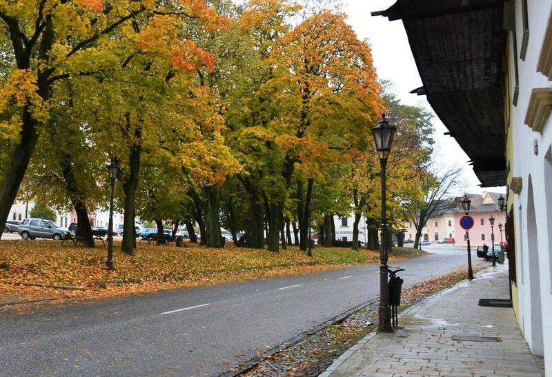 Золотая осень прекрасной незнакомки. Словакия, октябрь 2016.