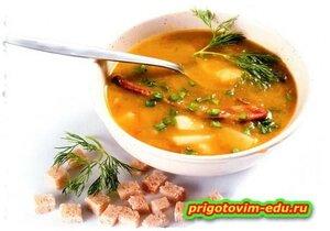 Суп карри со свининой