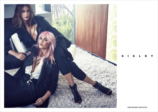 Yasmin Le Bon & Amber Le Bon Star in Sisley Fall Winter 2016 Campaign (5 pics)