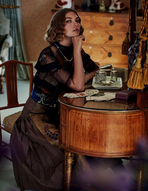 Arizona Muse Stars in Elle Italia November 2016 Cover Story