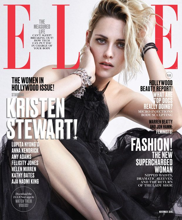 Elle US The Women In Hollywood Ft. Lupita, Kristen, Helen, Kathy + More