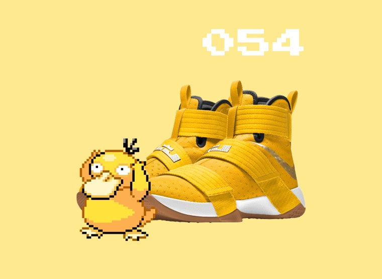 pokeID - Designers imagine customized pairs of Nike for each Pokemon
