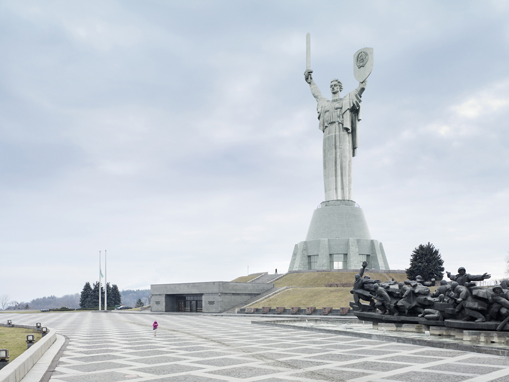 Mother of the Fatherland, Kiev, Ukraine, 203 ft, built in 1981