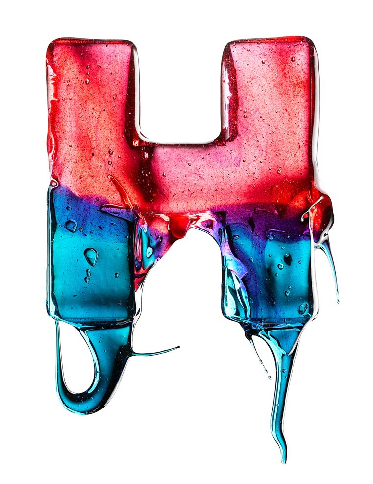 EAT ME - A colorful sugar typography