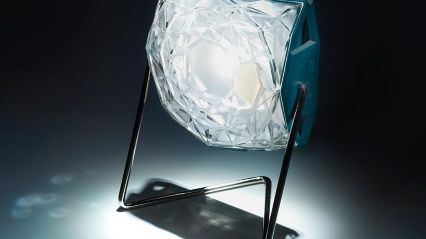 Little Sun Diamond Lamp by Olafur Eliasson (5 pics)