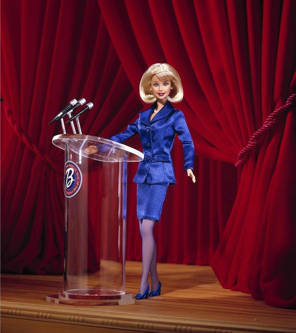 Кукла-президент