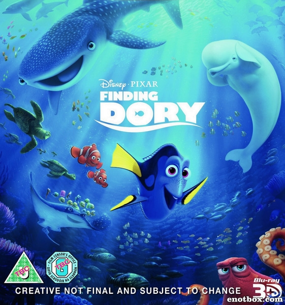В поисках Дори / Finding Dory (2016/WEB-DL/WEB-DLRip)