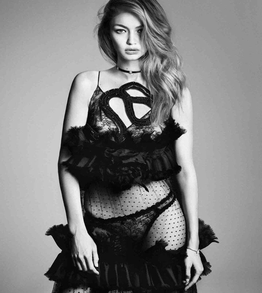 Gigi Hadid - Vogue Japan (December 2016)