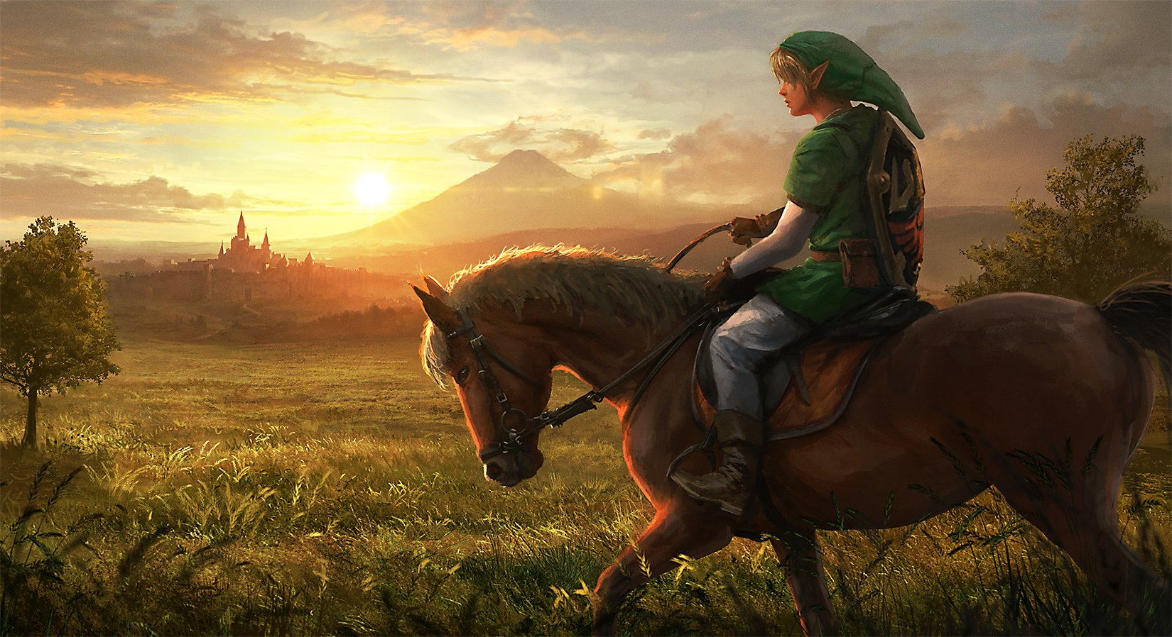 The Legend of Zelda Inspired Concept Art and Illustrations I
