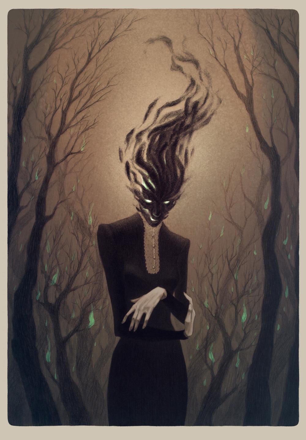 Anne Dark Concept Art