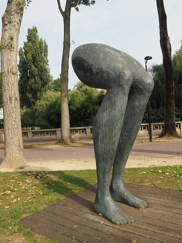 Франция, Гавр - статуя (France, Le Havre – statue)