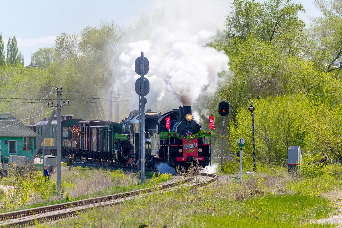 Ретро-поезд Победа фото 2