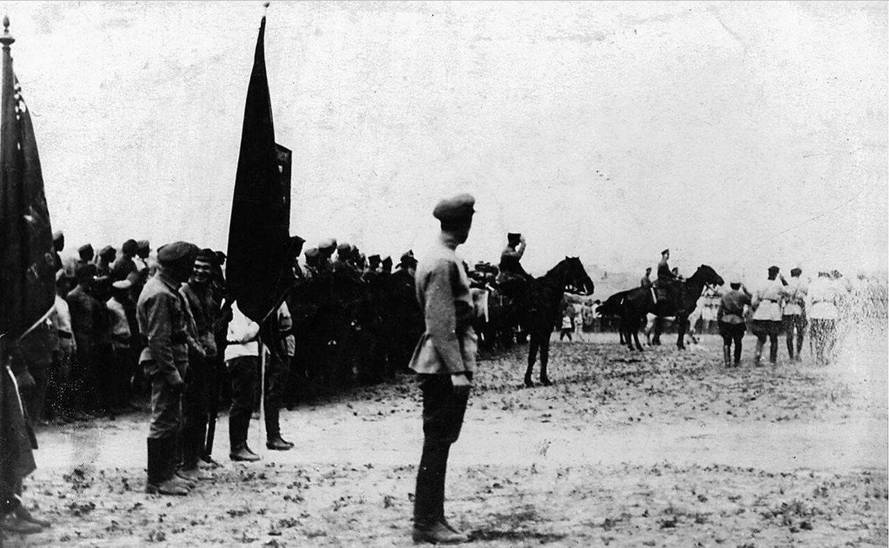 1920. Троицк. Военный парад в годовщину освобождения Урала от Колчака