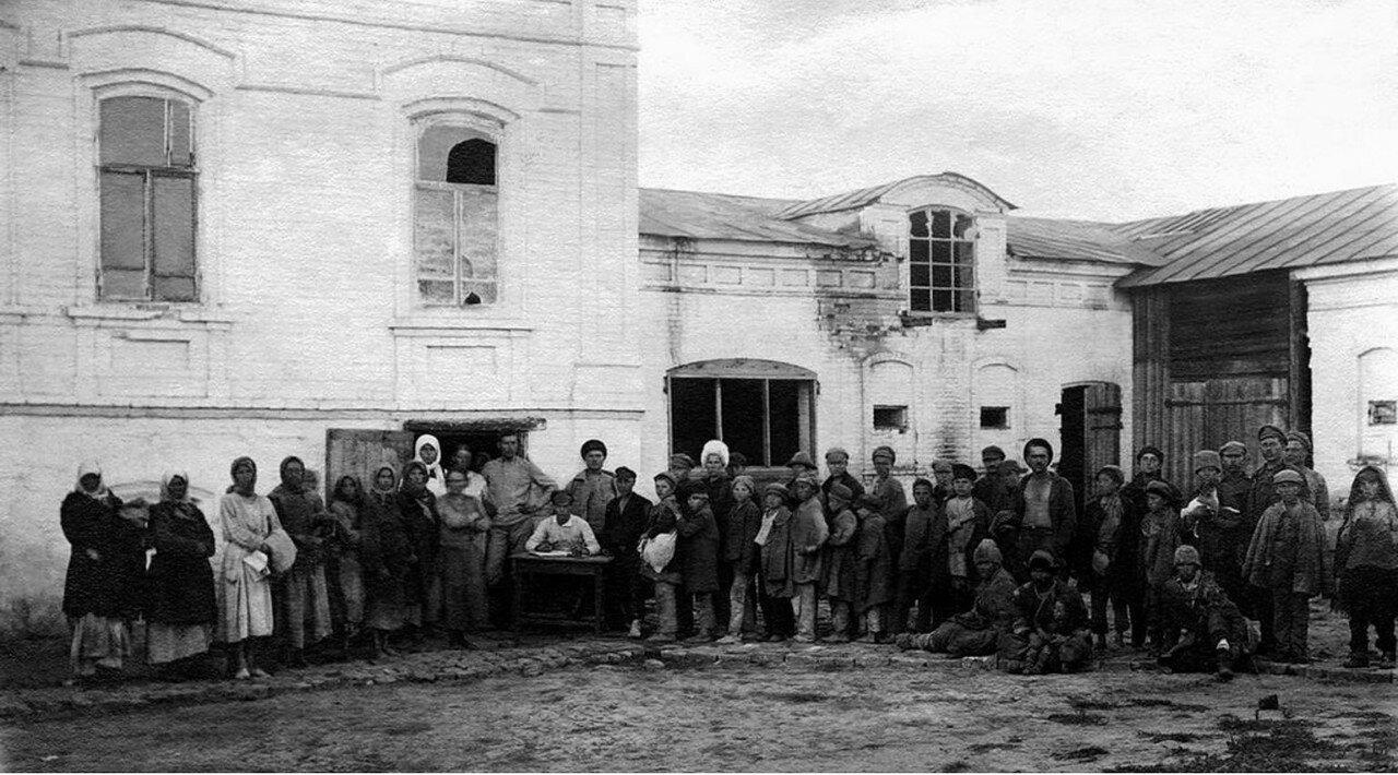 1920. Челябинск. Регистрация ночлежников