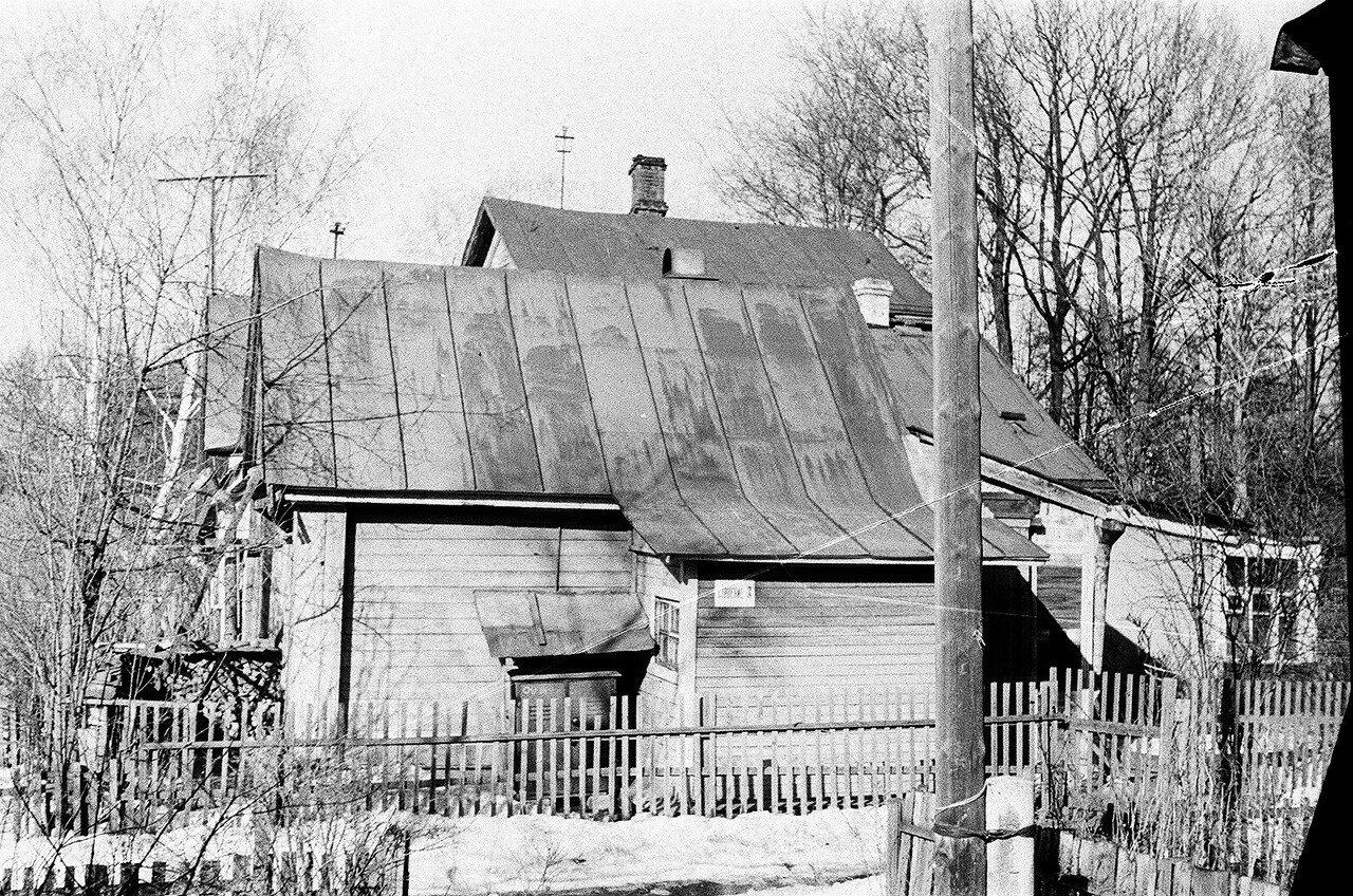 1973. Дом №1 стр.3 по 6-му Лучевому. Справа 6-й Лучевой