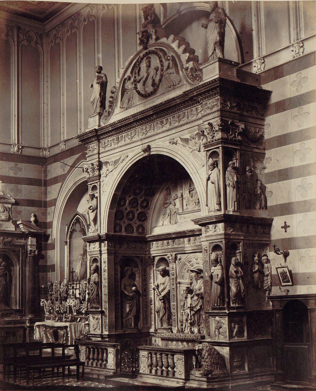 30. Церковь Святого Иоанна на ул.Карбонара. Часовня Девы Марии