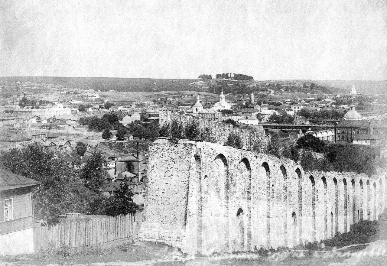 Вид с Казанской горы на Заднепровье. 1900-е